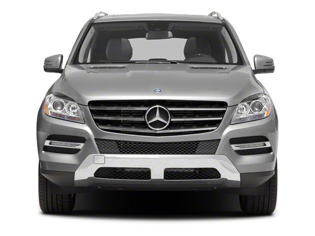 2012 Mercedes-Benz M-Class Pictures M-Class Utility 4D ML350 BlueTEC AWD photos front view