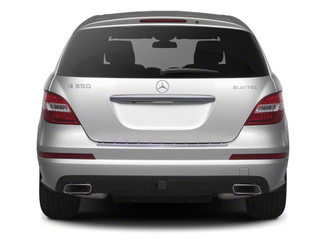 2012 Mercedes-Benz R-Class Prices and Values Utility 4D R350 BlueTEC AWD rear view