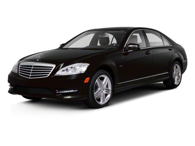 2012 Mercedes-Benz S-Class Prices and Values Sedan 4D S550 AWD side front view