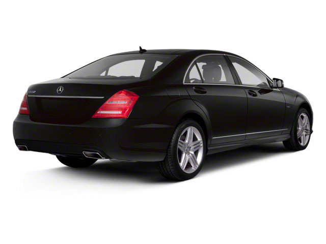 2012 Mercedes-Benz S-Class Prices and Values Sedan 4D S550 AWD side rear view