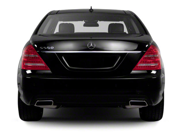 2012 Mercedes-Benz S-Class Prices and Values Sedan 4D S550 AWD rear view