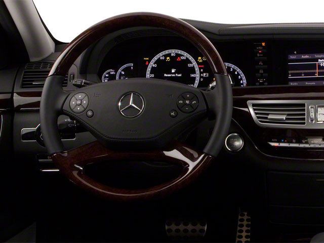 2012 Mercedes-Benz S-Class Prices and Values Sedan 4D S550 AWD driver's dashboard