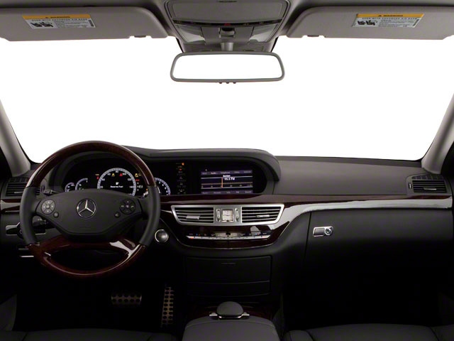 2012 Mercedes-Benz S-Class Prices and Values Sedan 4D S550 AWD full dashboard