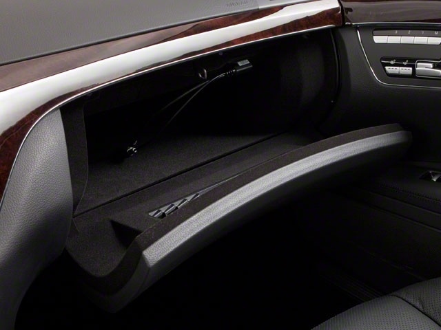 2012 Mercedes-Benz S-Class Prices and Values Sedan 4D S550 AWD glove box