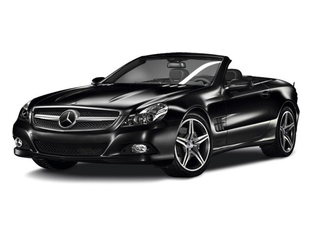 2012 Mercedes-Benz SL-Class Prices and Values Roadster 2D SL63 AMG side front view
