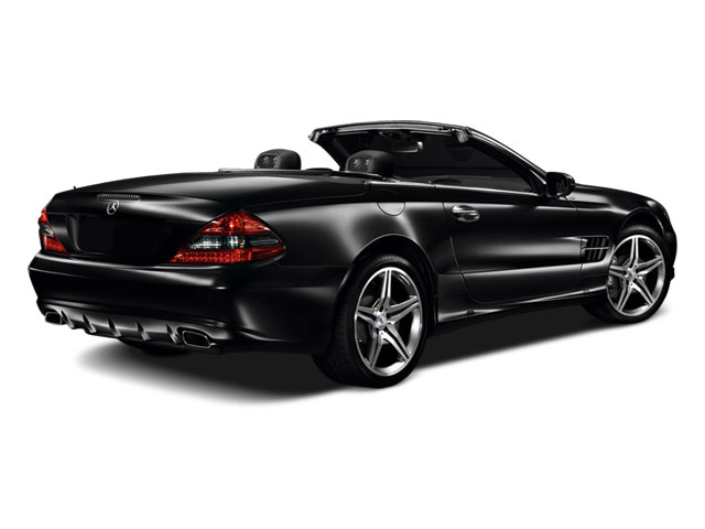 2012 Mercedes-Benz SL-Class Prices and Values Roadster 2D SL63 AMG side rear view