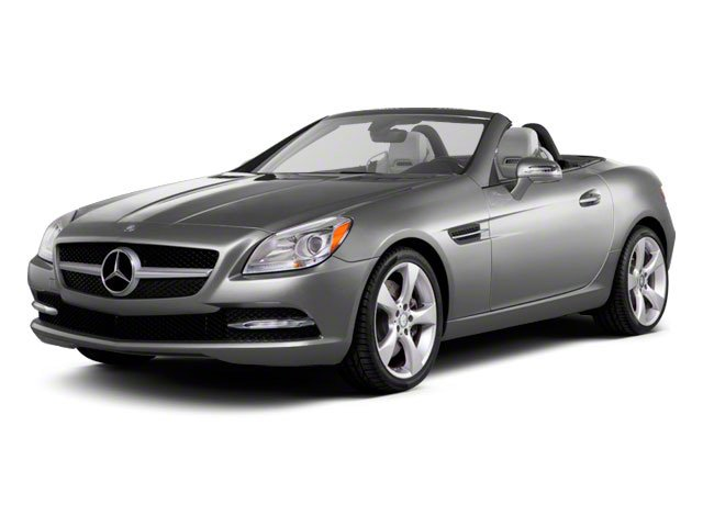 2012 Mercedes-Benz SLK-Class Prices and Values Roadster 2D SLK350 side front view