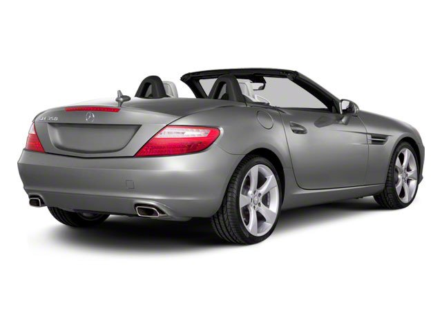 2012 Mercedes-Benz SLK-Class Prices and Values Roadster 2D SLK350 side rear view