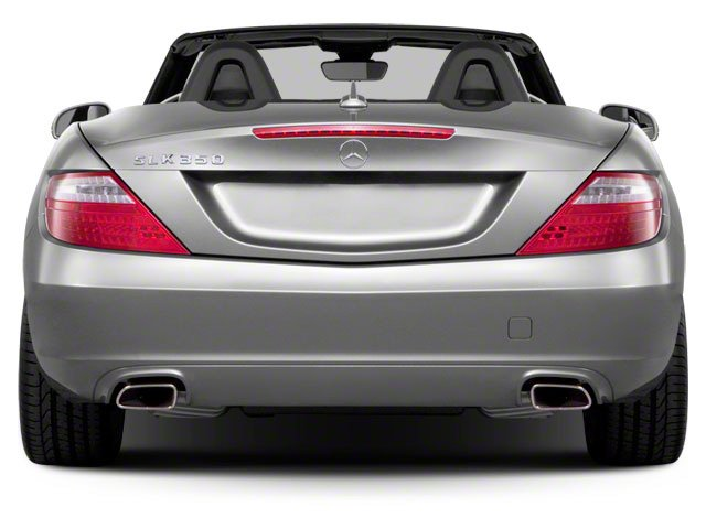 2012 Mercedes-Benz SLK-Class Prices and Values Roadster 2D SLK250 rear view