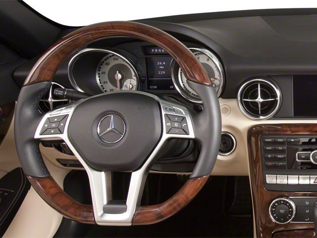 2012 Mercedes-Benz SLK-Class Prices and Values Roadster 2D SLK250 driver's dashboard