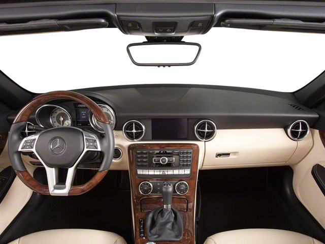 2012 Mercedes-Benz SLK-Class Prices and Values Roadster 2D SLK250 full dashboard