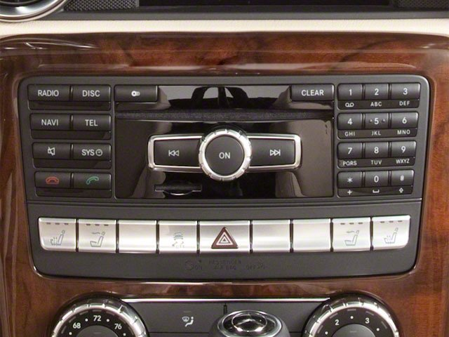 2012 Mercedes-Benz SLK-Class Prices and Values Roadster 2D SLK350 stereo system