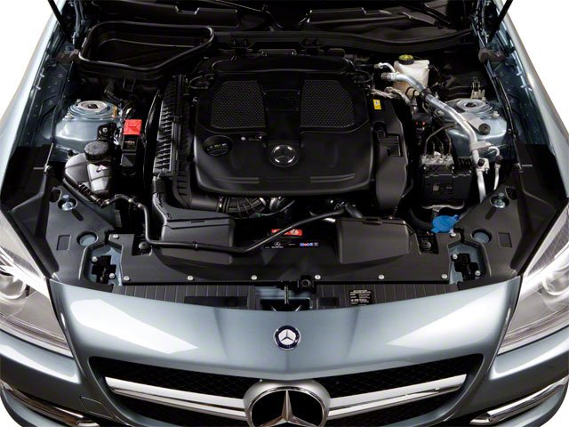 2012 Mercedes-Benz SLK-Class Prices and Values Roadster 2D SLK350 engine