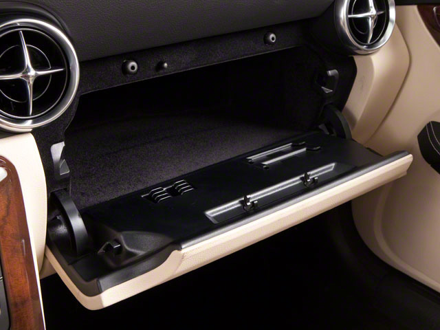 2012 Mercedes-Benz SLK-Class Prices and Values Roadster 2D SLK350 glove box