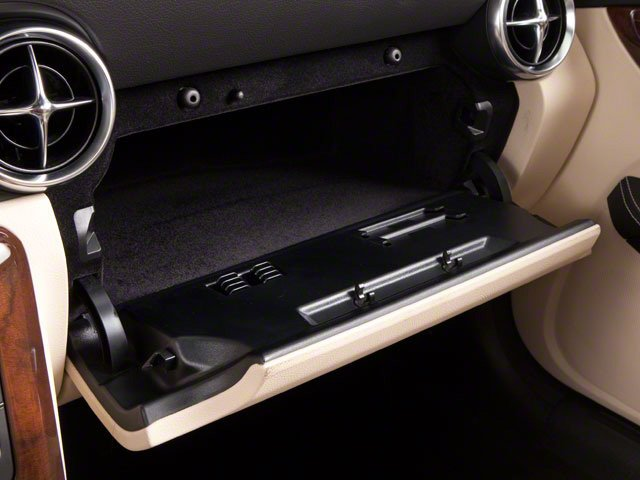 2012 Mercedes-Benz SLK-Class Prices and Values Roadster 2D SLK250 glove box