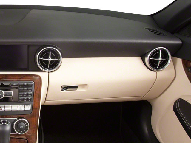 2012 Mercedes-Benz SLK-Class Prices and Values Roadster 2D SLK250 passenger's dashboard