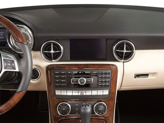 2012 Mercedes-Benz SLK-Class Prices and Values Roadster 2D SLK250 center dashboard
