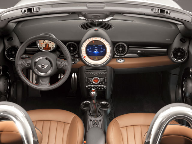 2017 Mini Cooper Roadster Prices And Values 2d Full Dashboard