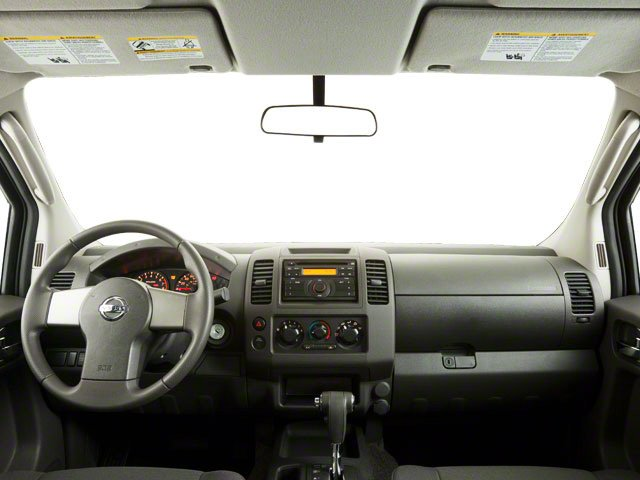 2012 Nissan Frontier Prices and Values King Cab SV 2WD full dashboard