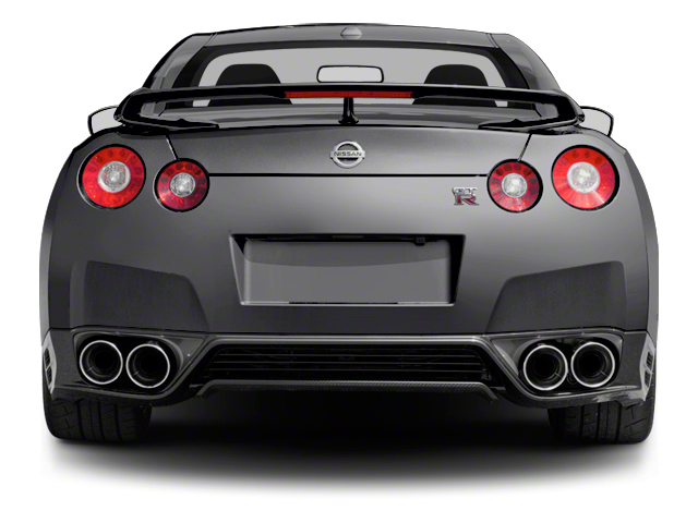 2012 Nissan GT-R Prices and Values Coupe 2D Premium AWD rear view