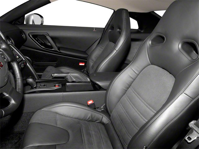 2012 Nissan GT-R Prices and Values Coupe 2D Premium AWD front seat interior