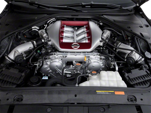 2012 Nissan GT-R Prices and Values Coupe 2D Premium AWD engine