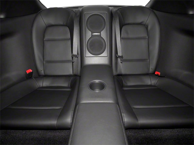 2012 Nissan GT-R Prices and Values Coupe 2D Premium AWD backseat interior