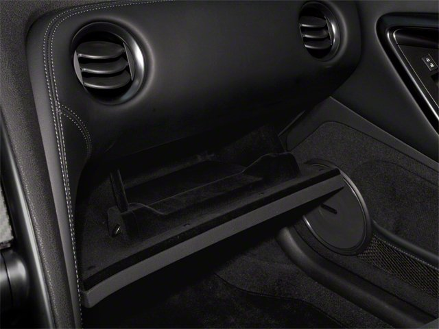 2012 Nissan GT-R Prices and Values Coupe 2D Premium AWD glove box