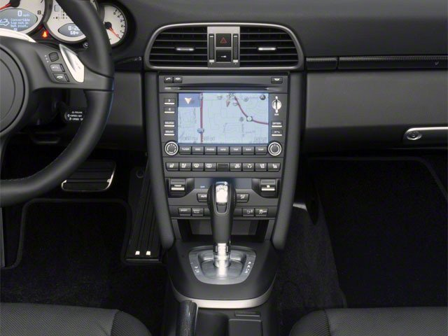 2012 Porsche 911 Prices and Values Cabriolet 2D center console