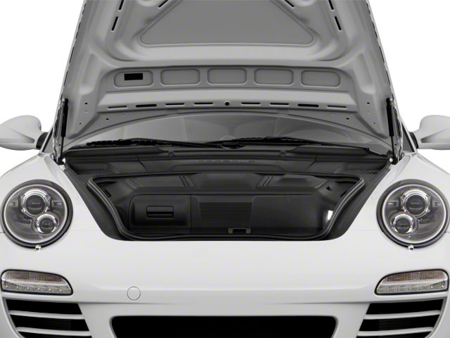 2012 Porsche 911 Prices and Values Cabriolet 2D open trunk