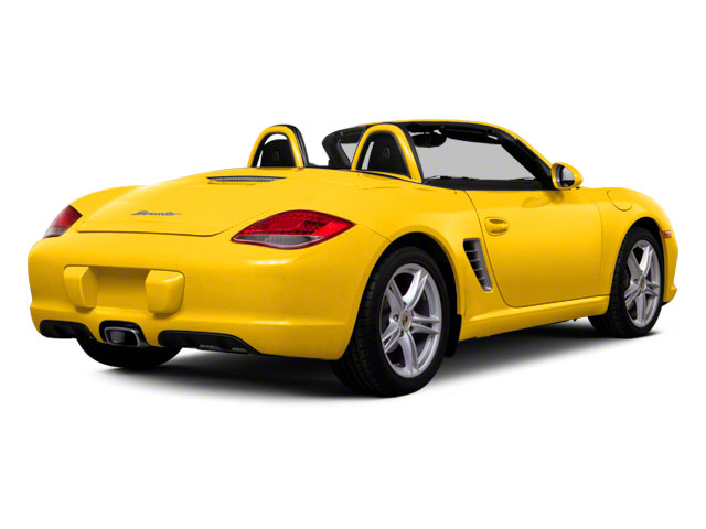 2012 Porsche Boxster Prices and Values Roadster 2D S side rear view