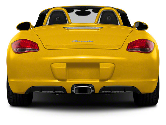 2012 Porsche Boxster Prices and Values Roadster 2D S rear view