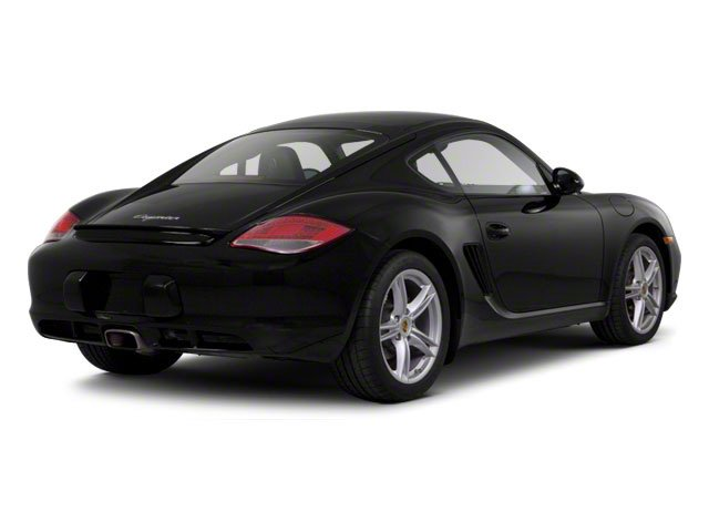 2012 Porsche Cayman Prices and Values Coupe 2D side rear view