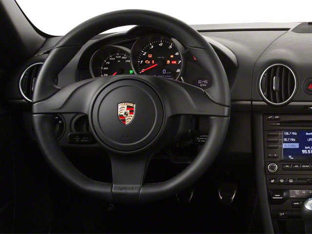 2012 Porsche Cayman Prices and Values Coupe 2D driver's dashboard