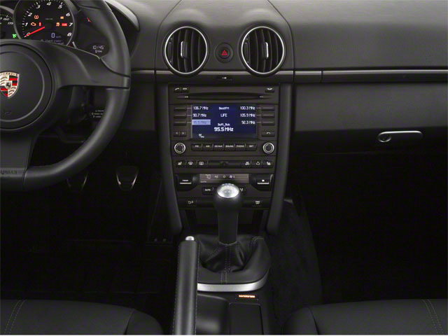 2012 Porsche Cayman Prices and Values Coupe 2D center console