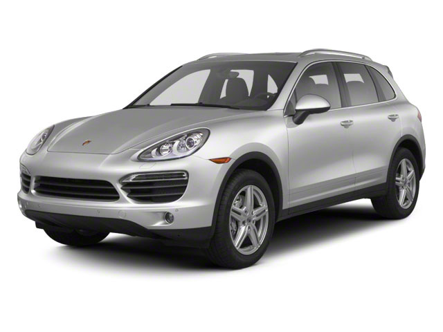 2012 Porsche Cayenne Prices and Values Utility 4D S AWD (V8) side front view