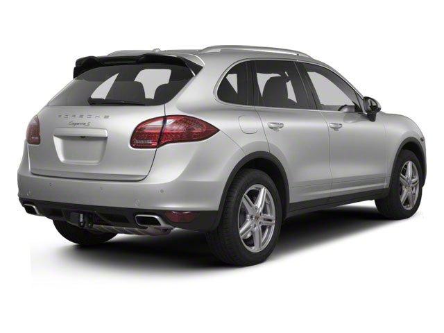 2012 Porsche Cayenne Pictures Cayenne Utility 4D S AWD (V8) photos side rear view
