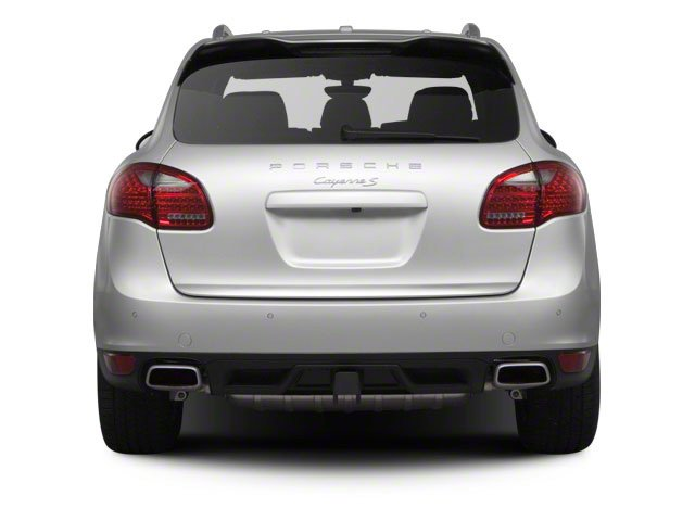 2012 Porsche Cayenne Prices and Values Utility 4D S AWD (V8) rear view