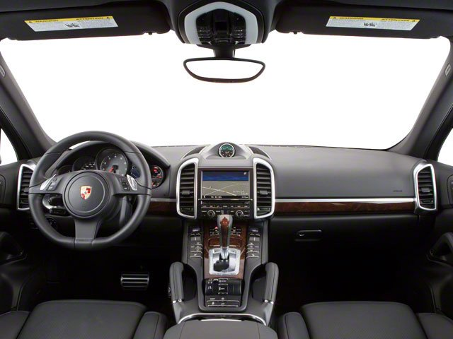 2012 Porsche Cayenne Prices and Values Utility 4D S AWD (V8) full dashboard