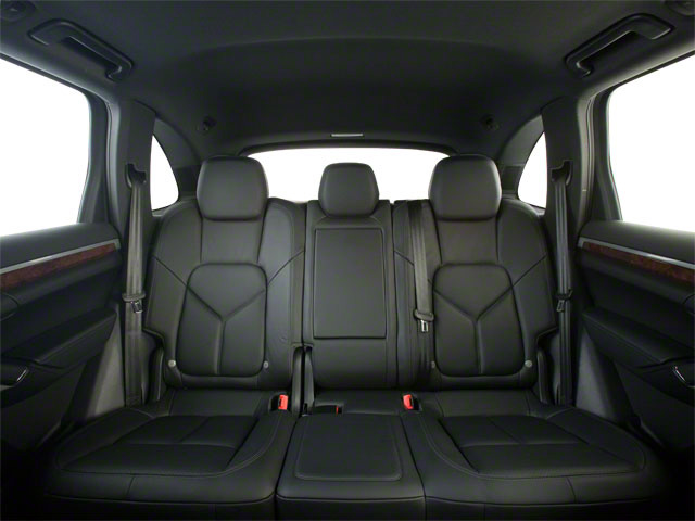 2012 Porsche Cayenne Prices and Values Utility 4D S AWD (V8) backseat interior