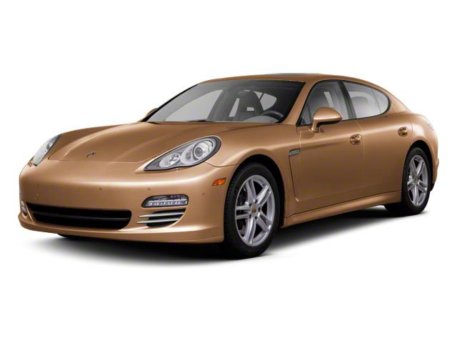 2012 Porsche Panamera Prices and Values Hatchback 4D Turbo AWD side front view