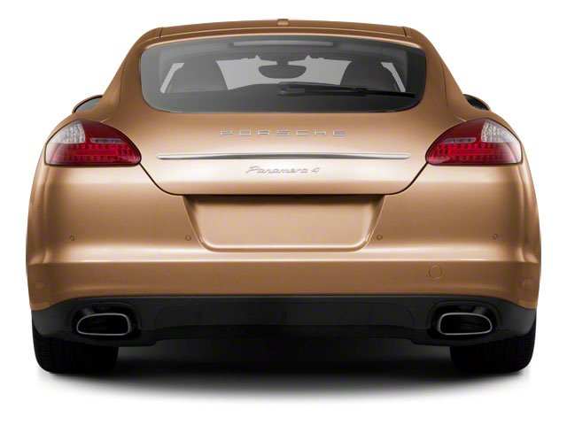 2012 Porsche Panamera Prices and Values Hatchback 4D S rear view