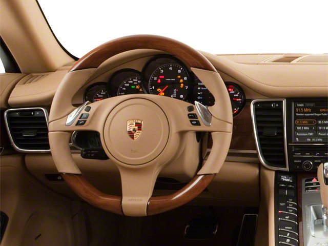 2012 Porsche Panamera Prices and Values Hatchback 4D S driver's dashboard