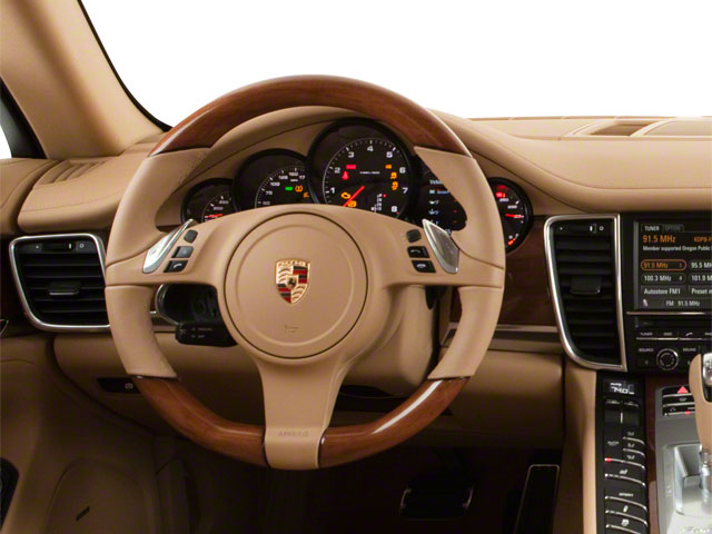 2012 Porsche Panamera Prices and Values Hatchback 4D Turbo AWD driver's dashboard
