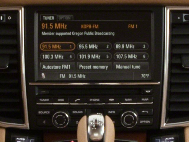 2012 Porsche Panamera Pictures Panamera Hatchback 4D Turbo AWD photos stereo system