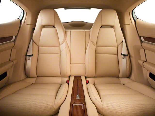 2012 Porsche Panamera Pictures Panamera Hatchback 4D Turbo AWD photos backseat interior