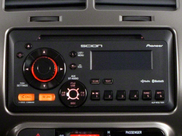 2012 Scion xD Prices and Values Hatchback 5D stereo system