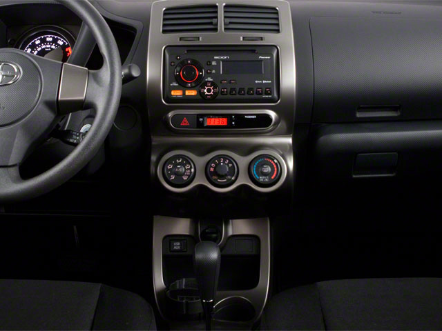 2012 Scion xD Prices and Values Hatchback 5D center console