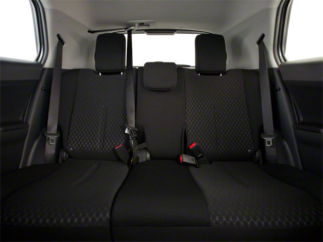 2012 Scion xD Prices and Values Hatchback 5D backseat interior