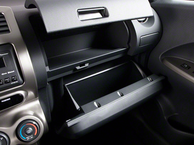 2012 Scion xD Prices and Values Hatchback 5D glove box